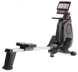 SportPlus Ruderergometer klappbar für zuhause - 24 Stufen & 6 Trainingsprogramme, leises Magnetbremssystem, Rudergerät mit Trainingscomputer & App-Steuerung, TÜV-geprüft, SP-MR-030-iE - 1