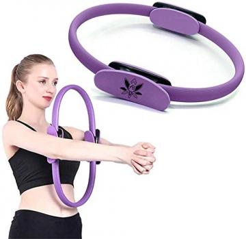 AB Pilates Magic Ring mit 2 rutschfesten Griffen Pilates Circle Gewichtsverlust Körperstraffung - 6