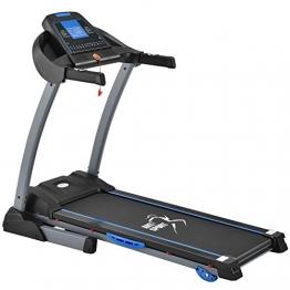 ArtSport Laufband Speedrunner 3500 klappbar mit Kinomap-Funktion, 2 PS Motor, 14 km/h, 24 Programme – Heimtrainer elektrisch LCD Display & Steigung - 1