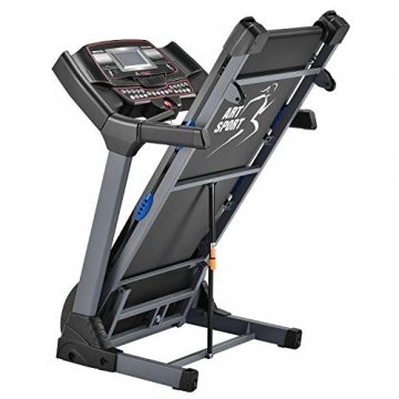 ArtSport Laufband Speedrunner 6000 elektrisch & klappbar 22 km/h | 99 Programme | LCD Display | bis 150 kg belastbar | Heimtrainer Fitnessgerät - 3