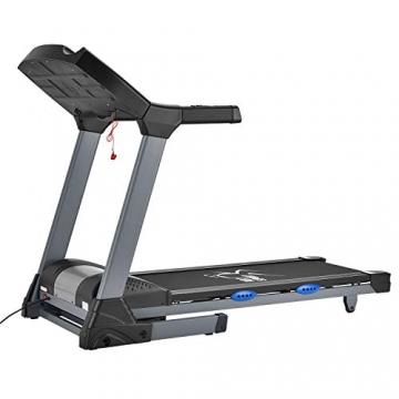 ArtSport Laufband Speedrunner 6000 elektrisch & klappbar 22 km/h | 99 Programme | LCD Display | bis 150 kg belastbar | Heimtrainer Fitnessgerät - 4