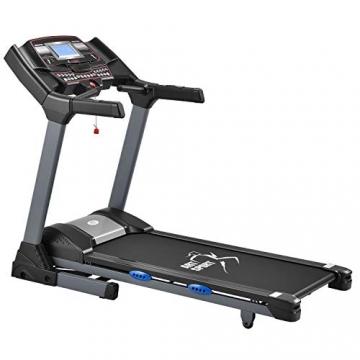 ArtSport Laufband Speedrunner 6000 elektrisch & klappbar 22 km/h | 99 Programme | LCD Display | bis 150 kg belastbar | Heimtrainer Fitnessgerät - 1