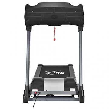 ArtSport Laufband Speedrunner 6000 elektrisch & klappbar 22 km/h | 99 Programme | LCD Display | bis 150 kg belastbar | Heimtrainer Fitnessgerät - 5