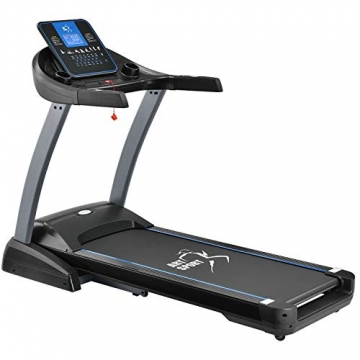 ArtSport Laufband Speedrunner 7000 klappbar mit Kinomap-Funktion, 3 PS Motor, 22 km/h, 48 Programme – Heimtrainer elektrisch LCD Display & Steigung - 1