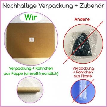 beneyu ® Rutschfester & Superleichter Soft Pilates Ball - Gymnastikball Klein - 23cm +Übungen - 7
