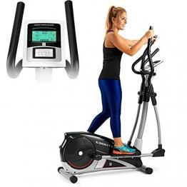 BH Fitness Lightfit 1030 G2336RF - Crosstrainer - Ellipsentrainer - 10kg Schwungrad - 30 cm Schrittlänge - magnetisches Bremssystem - 1