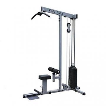 Body-Solid Latzug und Ruderzug mit 95kg oder 130kg Steckgewichten (95kg Steckgewichte) - 1