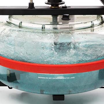 Capital Sports Rowlympic Wasserrudergerät Ruderbank, gleichmäßiges & gelenkschonendes Training, 115 cm Lange Gleitbahn, Wasserwiderstand mit Regulierung durch Wasserfüllstand, Aluminium - 9