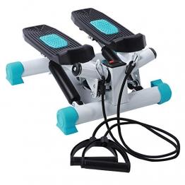 Ejoyous Mini-Stepper, Verstellbarer Cardio-Treppen-Stepper-Schrittmaschine Beinabnehmen Schritttraining Übungspedal Fitness-Trainingsgeräte mit LCD-Monitor für den Innenbereich - 1