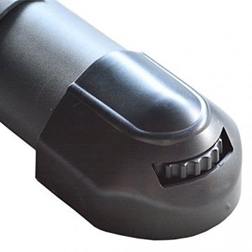 EnjoyFit® Crosstrainer Heimtrainer Ergometer Stepper Ellipsentrainer. Große Programmvielfalt inkl. 4 Herzfrequenz basiertes Training, Smartphone-Tablet-Halterung, elektr. gesteuerte Magnetbremse - 8