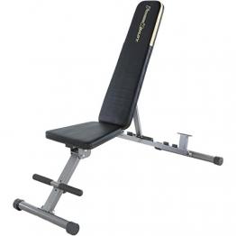 Fitness Reality 1000 Super Max Hantelbank mit 12 verstellbaren Positionen, bis 363 kg belastbar, Multifunktions Fitnessbank für das Training zuhause - 1