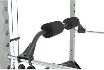 Fitness Reality 810XLT Super Max Power Rack mit Latzug, Kraftstation mit 363 kg maximaler Belastung, Power Cage mit Kabelzugturm und Klimmzugstange - 2