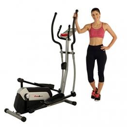 Fitness Reality Ei7500XL Ellipsentrainer mit Trainingszielen, Bluetooth, kostenloser App, 45 cm Schrittlänge, elektronisches Magnetbremssystem - 1