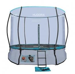HUDORA Fantastic Complete Trampolin/Gartentrampolin, mit Sicherheitsnetz, 300 cm, 65734 - 1