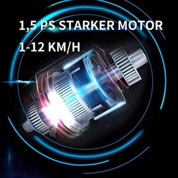 Laufband Speedrunner elektrisch klappbar 12 km/h, 12 automatische Programme sowie 3 Steigungsstufen, LCD Display - 5