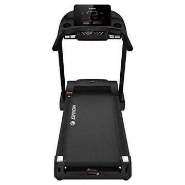 Orion Fitness Sprint C6 Laufband klappbar elektrisch bis 150kg, Bluetooth, FitShow, Kinomap automatische Steigung auf 15 Ebenen,LED-Computer, 1-20km/h, Motor mit 4PS(5PS), Laufgurtfläche 140 * 50cm - 5