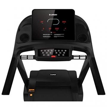 Orion Fitness Sprint C6 Laufband klappbar elektrisch bis 150kg, Bluetooth, FitShow, Kinomap automatische Steigung auf 15 Ebenen,LED-Computer, 1-20km/h, Motor mit 4PS(5PS), Laufgurtfläche 140 * 50cm - 6