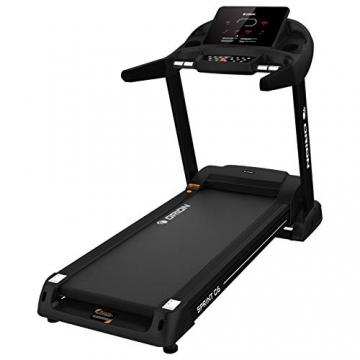 Orion Fitness Sprint C6 Laufband klappbar elektrisch bis 150kg, Bluetooth, FitShow, Kinomap automatische Steigung auf 15 Ebenen,LED-Computer, 1-20km/h, Motor mit 4PS(5PS), Laufgurtfläche 140 * 50cm - 7