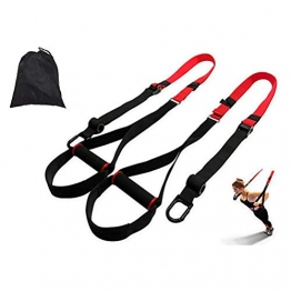 Schlingentrainer- High-End Sling Trainer,Schlingentrainer Sling Trainer Set mit Tasche,für unterwegs und für Zuhause, Home Workout, Home Gym- und Außenbereich - 1