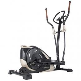 skandika Crosstrainer Eleganse/Adrett | Design Hometrainer mit Bluetooth, App-Steuerung (z.B. Kinomap), Tablethalterung, Magnetbremssystem, 12kg Schwungmasse, 32 Stufen | bis 130kg - 1