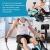 Skandika Rudergerät mit Auslegern Nordlys | Rudermaschine für EIN echtes Rudergefühl, kugelgelagerte Schwenkarme, klappbar, Magnetbremse, Tablethalter, 16 Stufen, 21 Programme, Trainingscomputer - 7