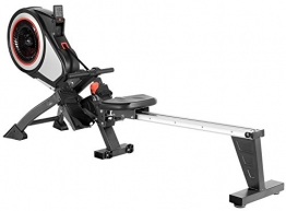SportPlus Rudergerät mit Luftwiderstand (8 Stufen) - klappbar & mit Rollen, Rudermaschine für zuhause bis 150 kg, geprüfte Sicherheit, SP-MR-010 - 1