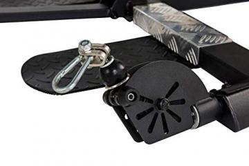 Tunturi Kraftstation HG80, Multigym mit 14 Gewichten a 5 kg, Fitnessstation, Gewichtsblock 70 kg - 7