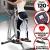 VENDOMNIA Crosstrainer für Zuhause - LCD Display mit Zeit, Count, Total Count, Kalorien, Pulsmesser, Bauchunterstützung - Heimtrainer Stepper, Nordic Walker Maschine, Cardio Trainer, Fitness Gerät - 5