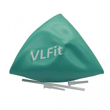 VLFit Mini 2er-Set Pilates Bälle 20cm + 25cm mit aufblasbaren Pipette für Stabilität, Barre, Pilates, Yoga, Core Training und Physiotherapie - 7