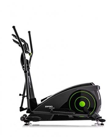 Zipro Erwachsene Magnetischer Crosstrainer iConsole Dunk bis 150kg, Schwarz, One Size, einheitsgröße - 1