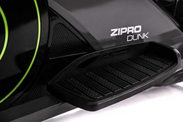 Zipro Erwachsene Magnetischer Crosstrainer iConsole Dunk bis 150kg, Schwarz, One Size, einheitsgröße - 7