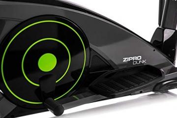 Zipro Erwachsene Magnetischer Crosstrainer iConsole Dunk bis 150kg, Schwarz, One Size, einheitsgröße - 9