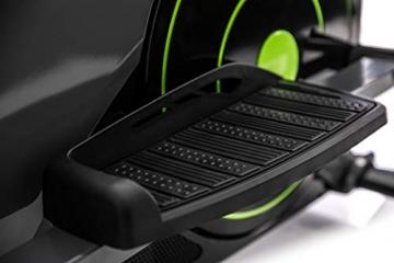 Zipro Erwachsene Magnetischer Crosstrainer iConsole Dunk bis 150kg, Schwarz, One Size, einheitsgröße - 10