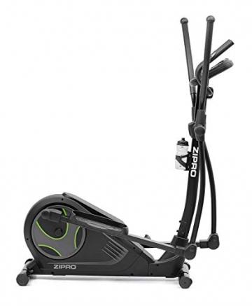 Zipro Heat mit iConsole+ Crosstrainer Ellipsometer, schwarz, 6299207 - 2