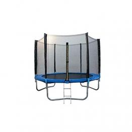 ATAA Trampolin für Kinder, 250 cm, Blau, für Kinder, sehr robust und sicher, geeignet für Außen- und Gärten, 2,5 m - 1