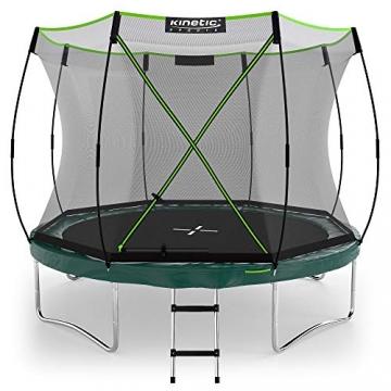 Kinetic Sports Gartentrampolin TBSE1000, 305 cm, grün - 1