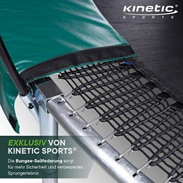 Kinetic Sports Gartentrampolin TBSE1000, 305 cm, grün - 3