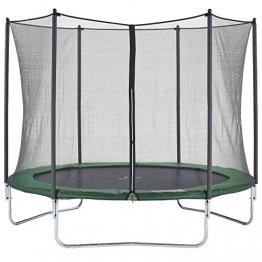 CZON SPORTS Gartentrampolin Ø300 cm mit Sicherheitsnetz, grün|trampolin|trampolin outdoor - 1