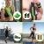 AILUKI Schlingentrainer Sling Trainer Set mit Türanker Resistance Strap Kit Einstellbar Fitnessgurte Zuhause Suspension Widerstandstrainer Trainingsgurte Geeignet für das Training im Innen und Außen - 6