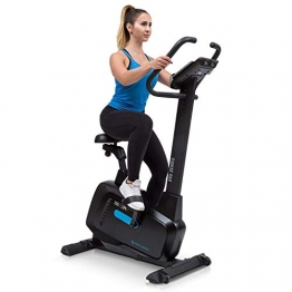 Capital Sports Evo Pro Cardiobike - Fitnessfahrrad mit Trainingscomputer, Heimtrainer, Bluetooth, 32 Stufen, App-Integration, 20 kg Schwungmasse, Tablet-Halterung, Pulssensor, schwarz - 1