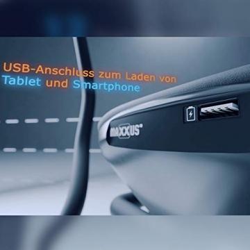 MAXXUS Ergometer Bike 4.2 - APP-Steuerung über Bluetooth, 16 Widerstandsstufen, Fitnessbike bis 160 kg hoch belastbar - 7