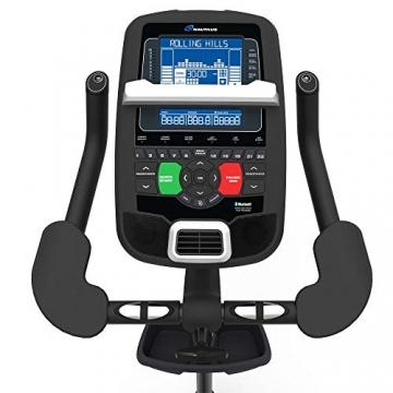 Nautilus Ergometer U628 - 25 Widerstandsstufen - Schwungmasse: 13.5 kg - Nautilus Connect - Soundsystem und integrierter Ventilator - RideSocial kompatibel - 4