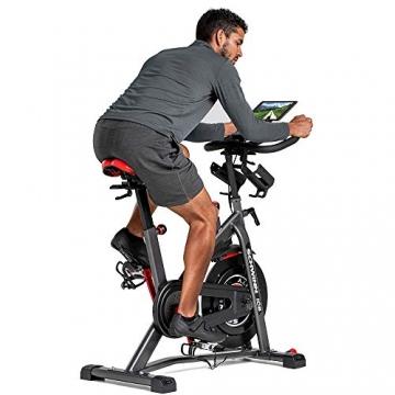 Schwinn Speedbike IC8 mit Bluetooth Indoor Cycle mit Magnetwiderstand, 100-fache Widerstandseinstellung mit Digitalanzeige, Zwift App. kompatibel, SPD-Klickpedale, max. Benutzergewicht 150 kg - 2