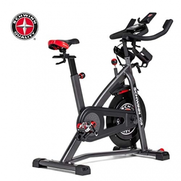 Schwinn Speedbike IC8 mit Bluetooth Indoor Cycle mit Magnetwiderstand, 100-fache Widerstandseinstellung mit Digitalanzeige, Zwift App. kompatibel, SPD-Klickpedale, max. Benutzergewicht 150 kg - 13
