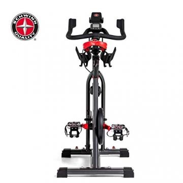 Schwinn Speedbike IC8 mit Bluetooth Indoor Cycle mit Magnetwiderstand, 100-fache Widerstandseinstellung mit Digitalanzeige, Zwift App. kompatibel, SPD-Klickpedale, max. Benutzergewicht 150 kg - 15