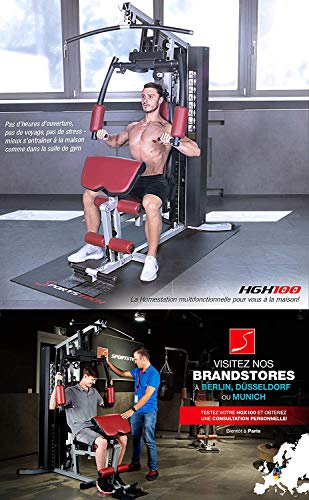 Sportstech Premium 50in1 Kraftstation für EIN Allround Training   Multifunktions-Heimtrainer mit Stepper & LAT-Zugturm   HGX Fitness-Station aus Eva Material   Robust für Zuhause (HGX260 Modell2021) - 4