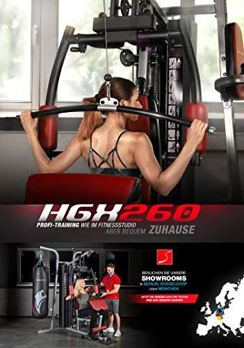Sportstech Premium 50in1 Kraftstation für EIN Allround Training   Multifunktions-Heimtrainer mit Stepper & LAT-Zugturm   HGX Fitness-Station aus Eva Material   Robust für Zuhause (HGX260 Modell2021) - 7
