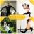 DAKCOS Premium Sling Trainer Set Schlingentrainer für Krafttraining mit Türanker Suspension Trainer Zuhause Ganzkörpertraining mit Übungsanleitung; bis 300 kg,Gelb - 6